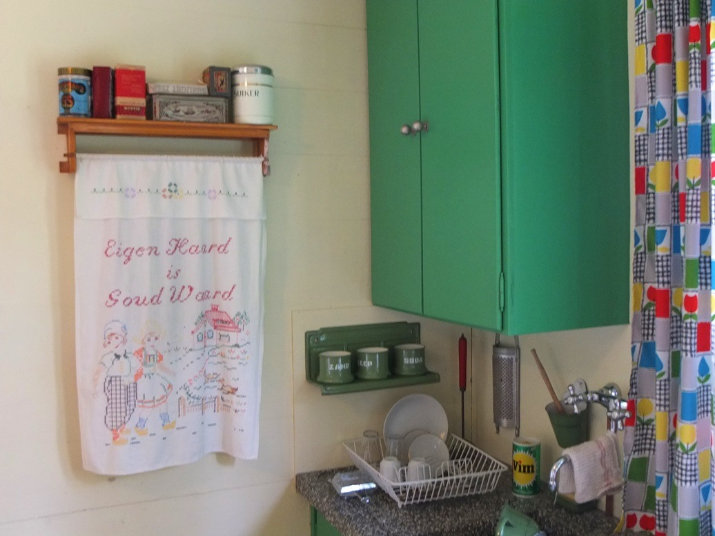 Ouderwetse Keuken Te Koop : Handdoek in ouderwetse keuken